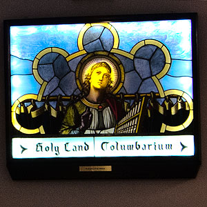 Columbarium Welcome Stainglass